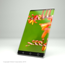 3D rendering of conceptual mobile phone