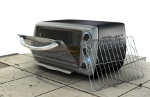 3d model of toaster oven