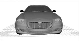 maserati quattroporte 2010 Model WIP