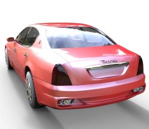 2010 maserati quattroporte 2010 WIP rendered in Keyshot 5