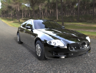 2010 maserati quattroporte 2010 WIP rendered in Keyshot 5