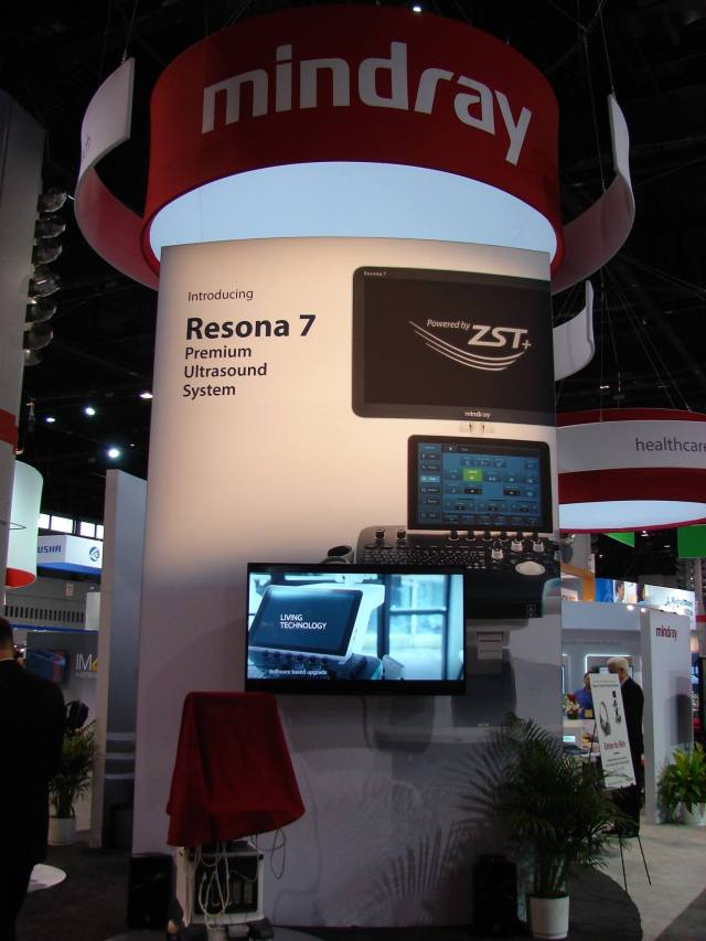 Mindray | ZONARE launch event for the Resona 7 at RSNA 2016