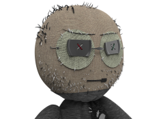 Doll model head